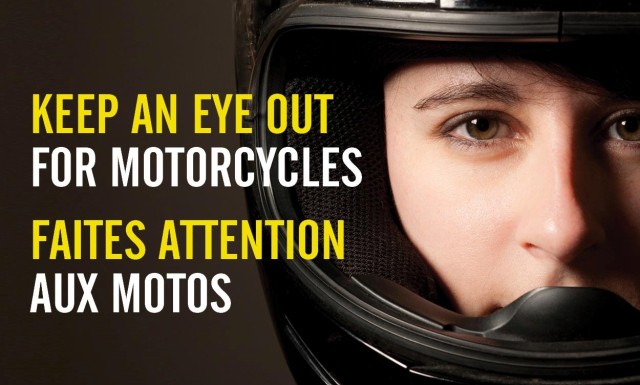 Canada keep an eye out for motorcycles