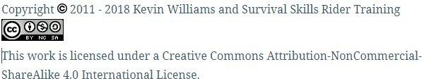 Creative Commons statement